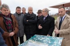 Ralph Brinkhaus MdB und CDU Rhein-Erft am Tagebau Hambach, Bild: Büro Kippels