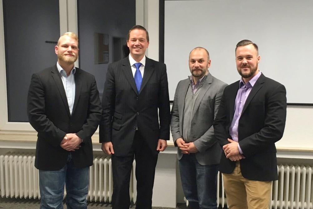 Unternehmensbesuch: Spezialisten aus der Sicherheitswirtschaft in Erftstadt