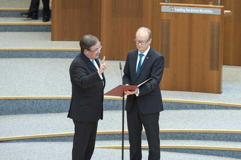 Herzlichen Glückwunsch an den neuen Ministerpräsidenten Armin Laschet
