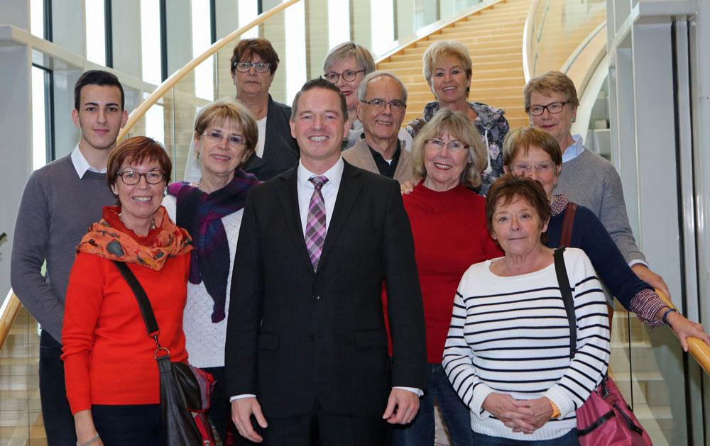 Besuch der Brühler JU und FU im Landtag