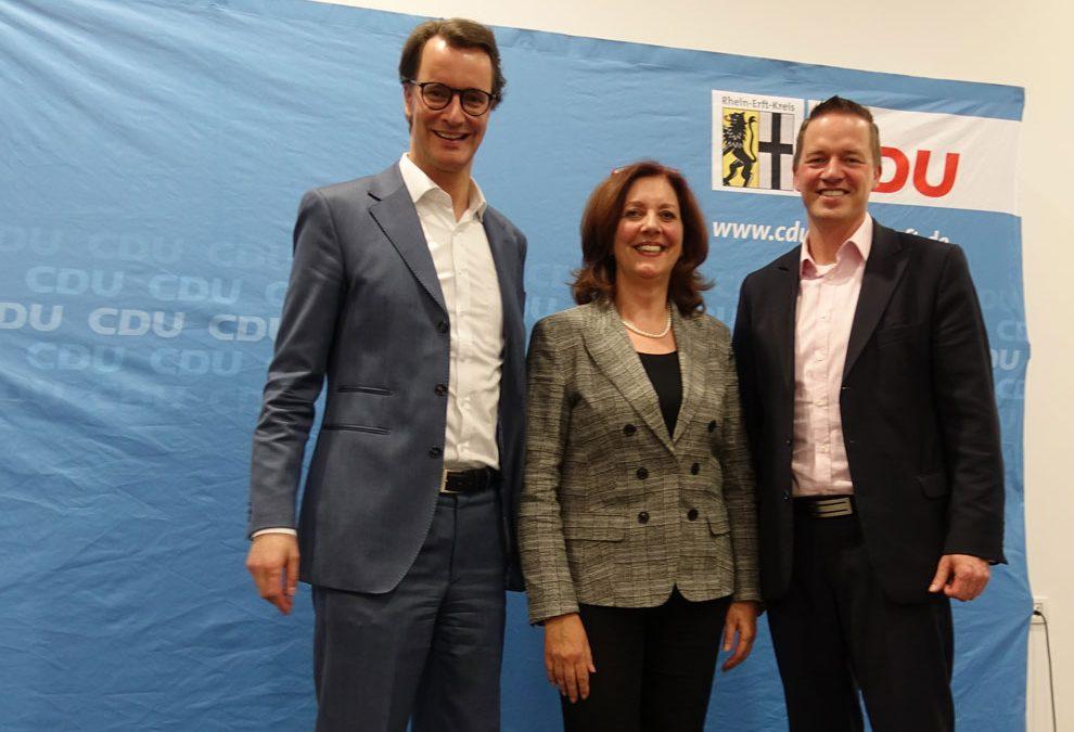 Wirtschaftspolitiker Hendrik Wüst zu Gast in Brühl: Wir werden den wirtschaftspolitischen Stillstand beenden