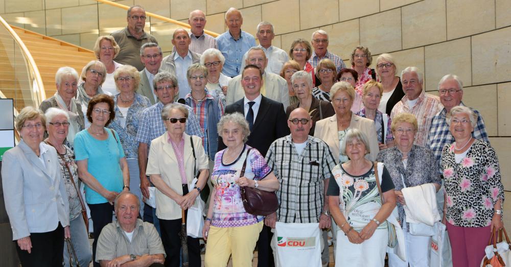 Senioren-Union Kerpen zu Gast im Landtag