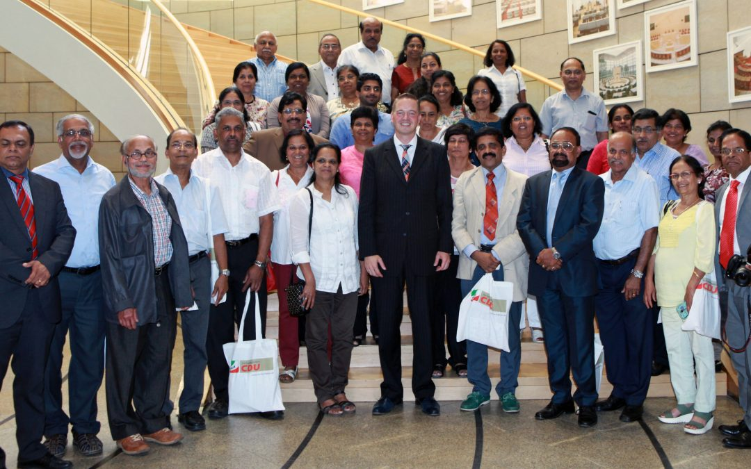Deutsch-Indische Gesellschaft zu Gast im Landtag