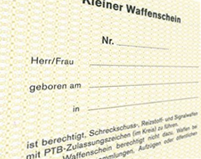 Über 3000 neue Waffenscheine in NRW im Januar