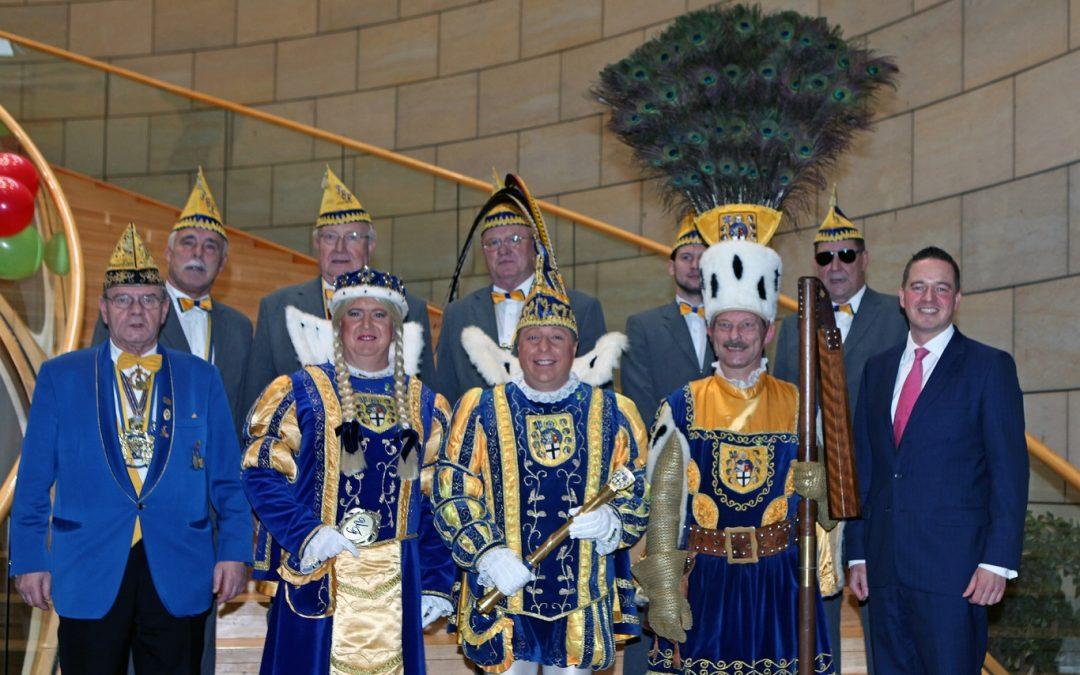Närrischer Landtag mit dem Brühler Dreigestirn