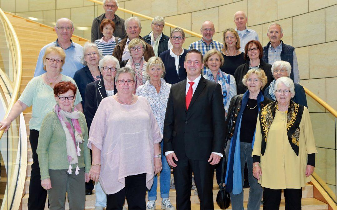 Frauenchor Brühl zu Gast im Landtag