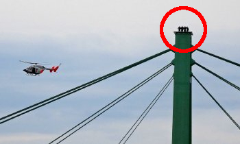 Foto auf Severinsbrücke: Aufklärung unerwünscht