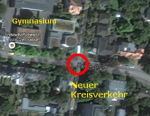 Kreisverkehr an der St.-Ursula-Kreuzung kommt