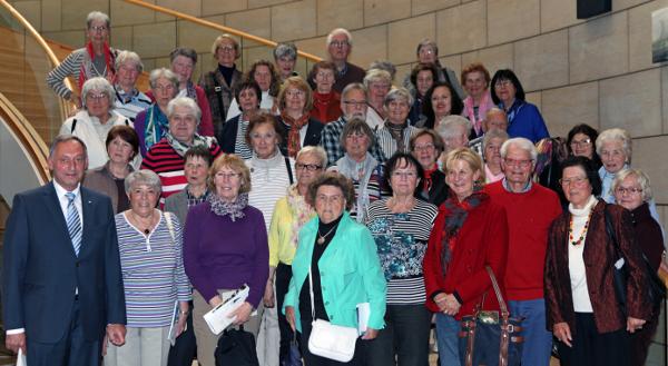Frauen-Union Brühl im Landtag NRW