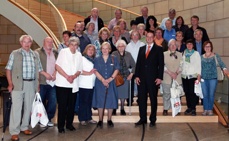 VdK aus Bedburg im Landtag NRW