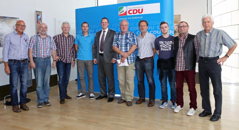 IGBCE-Niederaußem-Auenheim zu Gast