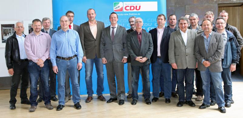 GdP Erftkreis im Landtag NRW