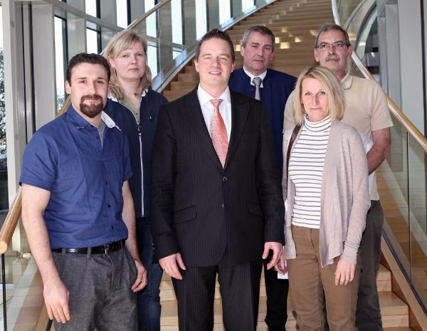 Feuer- und Rettungswache Bergheim besucht den Landtag