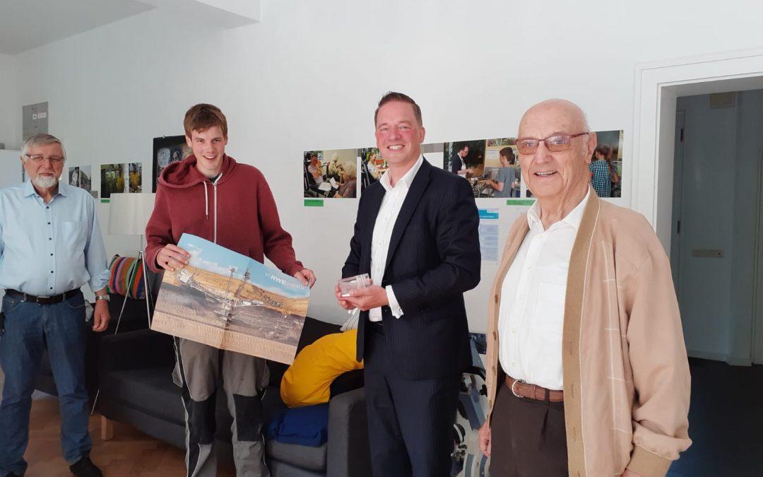 Gelebte Inklusion – Gregor Golland besucht Arbeitsprojekt für junge Erwachsene mit Behinderung