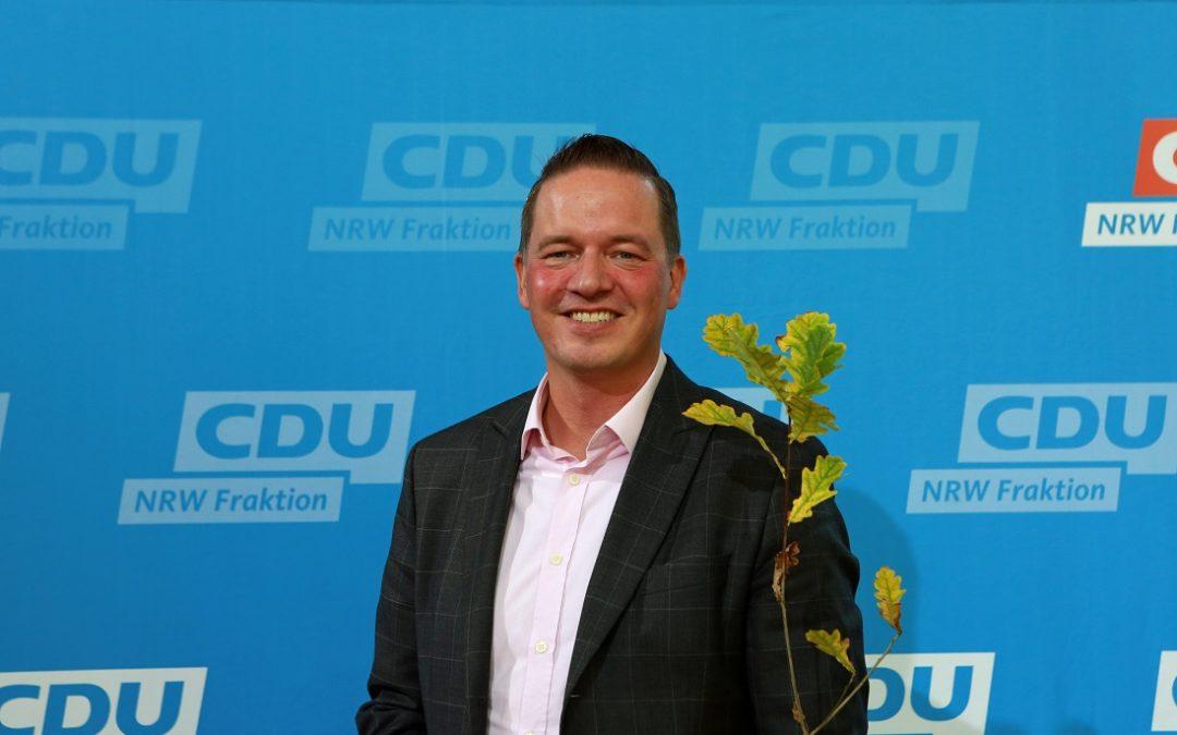 Aktionswoche Wald: CDU-Landtagsabgeordnete erhalten klimabeständige Setzlinge