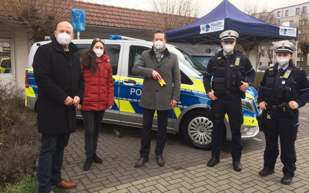 Ausstattung der Polizei: Pilotphase für Taser beginnt heute auch im Rhein-Erft-Kreis