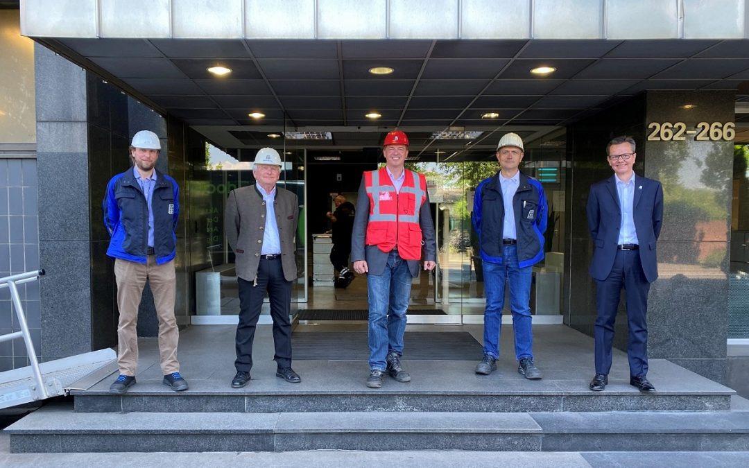 High-tech für die Welt – made in Brühl: Golland besucht Eisenwerk