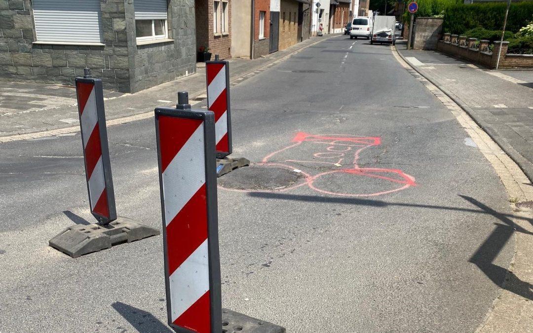 Landesstraße 162 in Erftstadt-Gymnich: Golland erhält positive Antwort zu Sanierungsplänen