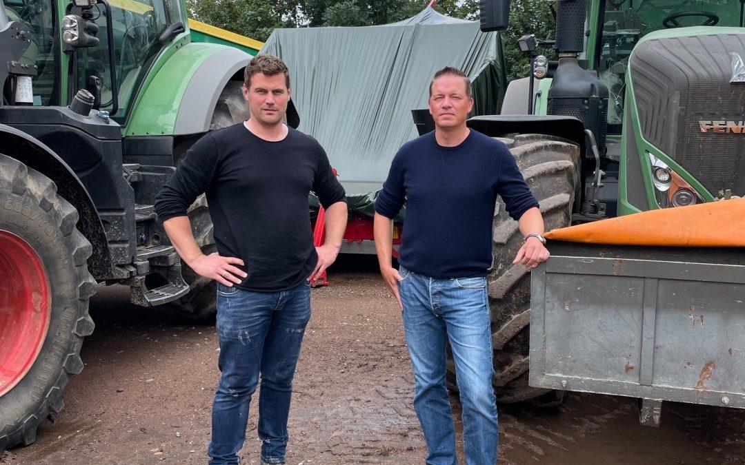 Golland besucht Landwirt Roman Sauer in Erftstadt